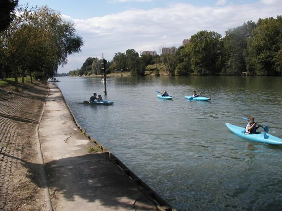les bords de Marne